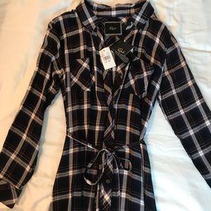 Rails Dresses - NEW Rails button front shirt dress